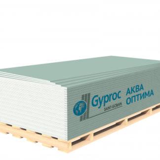 Гипсокартон Гипрок (Gyproc) АКВА ОПТИМА (2500*1200*12,5)