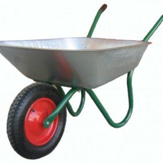 Садовая тачка одноколесная, 80 кг, 75 л,