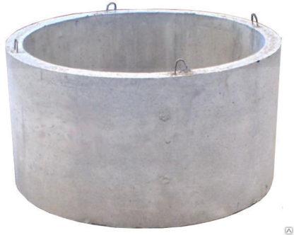 Кольцо колодезное бетонное армированное с замком КС15.9 (диаметр 1500 мм, высота 900мм)