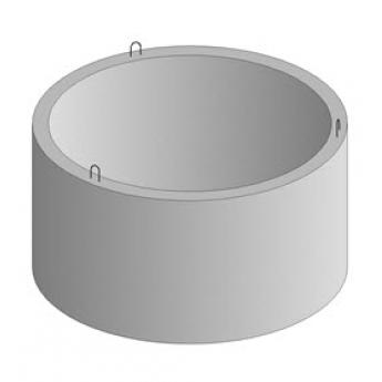 Кольцо колодезное ремонтное армированной с замком КС-8-9 (диаметр 800мм, высота 900мм)