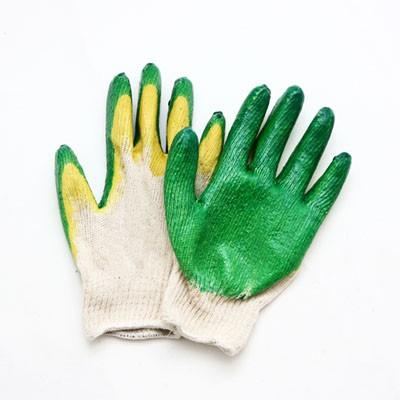 Перчатки Зубр MASTER  двойная обливная ладонью из латекса