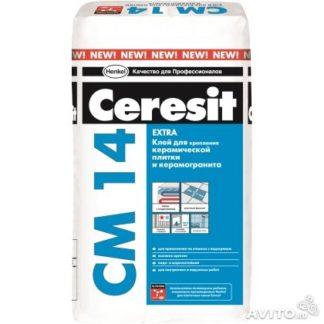 CERESIT CM-14 клей плиточный