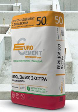 ЦЕМЕНТ EUROCEM 500 EXTRA (50кг)