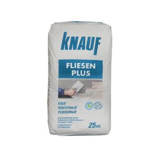 Клей плиточный усиленный КНАУФ-Флизен Плюс