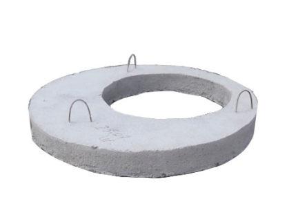 Крышка бетонная колодезная ПП 10.1 (диаметр 1000мм, высота 100мм)