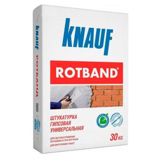 Кнауф Ротбанд / Knauf Rotband (Гипсовая штукатурка Серая) (30 кг)