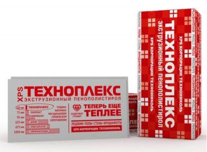 Пенополистирол экструзионный ТЕХНОНИКОЛЬ Техноплекс 100мм