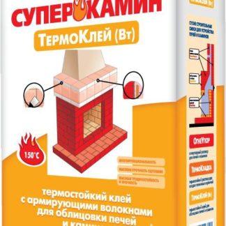 ПЛИТОНИТ-СуперКамин ТермоКлей для облицовки печей и каминов 25 кг.