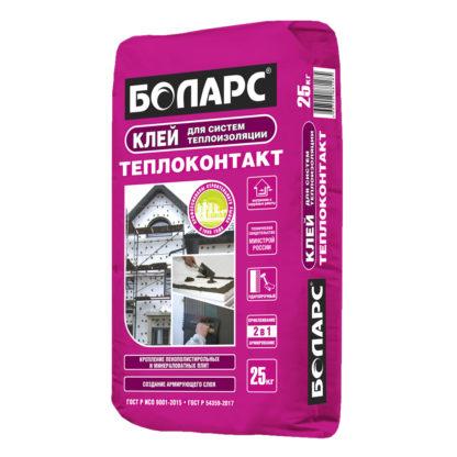 Клей для систем теплоизоляции ТЕПЛОКОНТАКТ