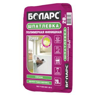 Шпатлевка полимерная ФИНИШНАЯ SUPER 3кг