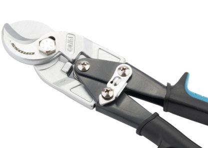 """Кабелерез """"Piranha"""", 240 мм, двухкомпонентные рукоятки, D кабеля до 14 мм, сечение 14 мм2 Gross"""