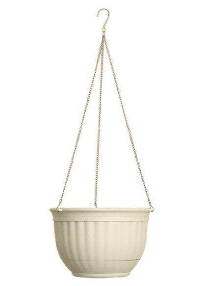 Кашпо подвесное, 240 мм, пластмассовая корзина круглая Palisad