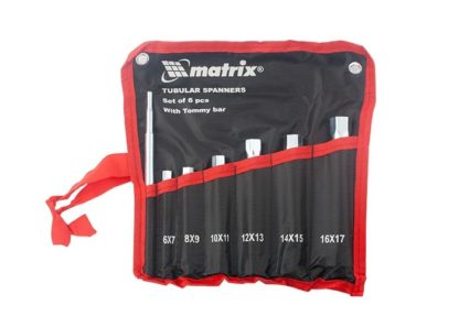 Набор ключей трубчатых торцевых 7 предметов Matrix