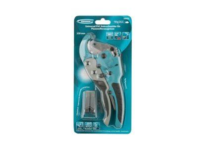 Ножницы для резки изделий из ПВХ, D до 45 мм, обрезиненные рукоятки, рабочий стол для плоских изделий Gross