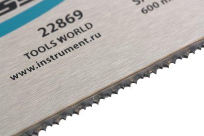 """Пильное полотно для прецизионного стусла """"Piranha"""", 600 мм, каленый зуб 2D, 18 TPI Gross"""
