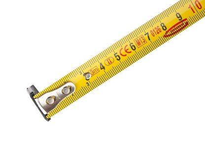 """Рулетка """"Ergonomisch"""", 3 м x 16 мм, магнитный обрезиненный зацеп Gross"""