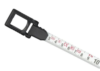 Рулетка геодезическая 30 м х 13 мм, закрытый корпус, металлическая лента, нейлон Gross