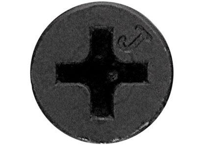 Саморезы по гипсокартону частая резьба, 4,8 x 152, PH №2, фосфатированные 1кг Шурупь