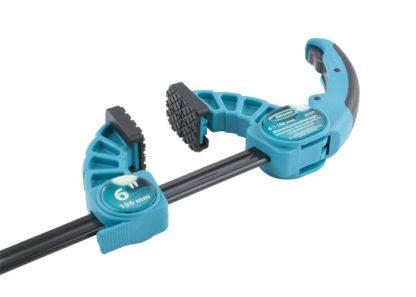 Струбцина реечная быстрозажимная, пластиковый корпус, рычажный храповой механизм, 6″/150 мм Gross