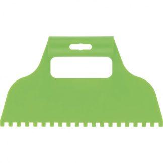 Шпатель для клея, пластмассовый, зубчатый 6 х 6 мм Сибртех