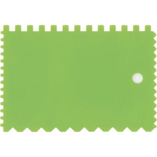 Шпатель для клея, пластмассовый, 90 х 130 мм, зубчатый Сибртех