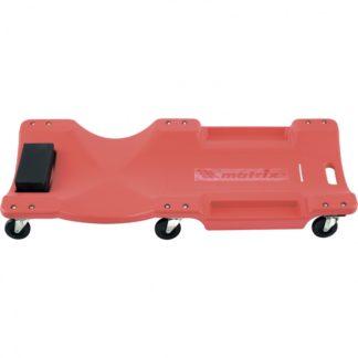 Лежак ремонтный на шести колесах, 1000 х 475 х 128 мм, пластиковый Matrix