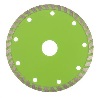Диск алмазный, отрезной Turbo, 125 х 22,2 мм, сухая резка Сибртех