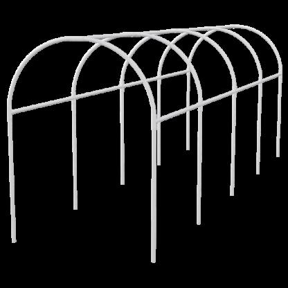 Каркас парника пластиковый 300 х 110 х 120 см, дуга D 20 мм, белый Palisad