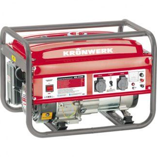 Генератор бензиновый Kronwerk KB 3500, 3.5 кВт, 220 В/50 Гц, 15 л, ручной старт