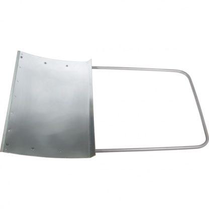 Движок для уборки снега стальной оцинкованный, 755х495х1245 мм, стальная рукоятка, Россия Сибртех