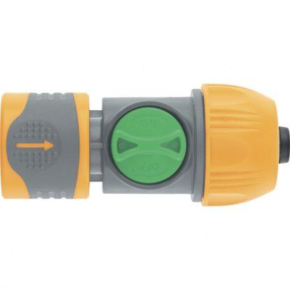 Соединитель быстросъемный унив. 1/2-3/4 с переключателем Palisad Luxe