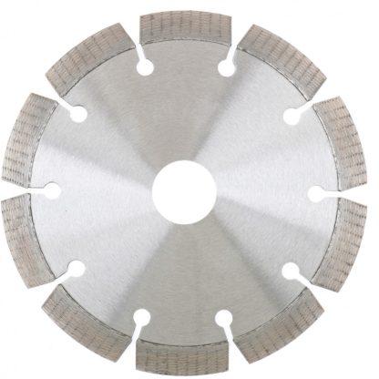 Диск алмазный, 125 х 22,2 мм, сегментный, упорядоченный алмаз, сухая резка Gross