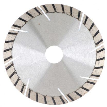 Диск алмазный, 125 х 22,2 мм, турбо-сегментный, сухая резка Gross