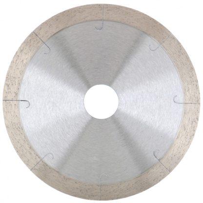 Диск алмазный, 115 х 22,2 мм, сплошной c лазерной перфорацией , мокрая резка Gross