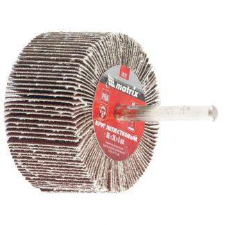 Круг лепестковый для дрели, 60 х 30 х 6 мм, Р 100 Matrix