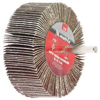Круг лепестковый для дрели, 80 х 30 х 6 мм, P 150 Matrix