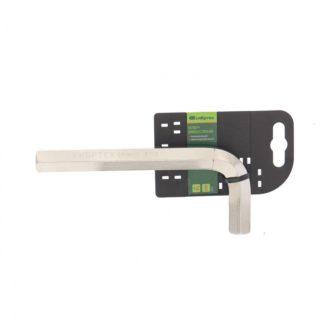Ключ имбусовыйHEX, 16 мм, 45x, закаленный, никель Сибртех