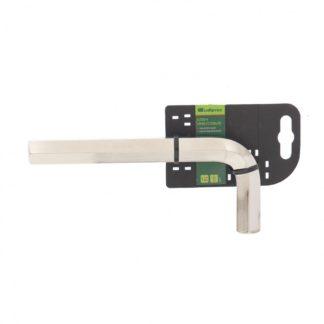 Ключ имбусовый HEX, 18 мм, 45x, закаленный, никель Сибртех