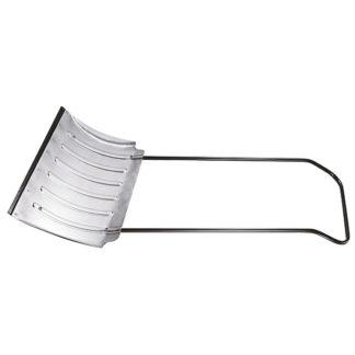 Движок для уборки снега алюминиевый, 750х420х1120 мм, усиленный, стальная рукоятка, Россия Сибртех