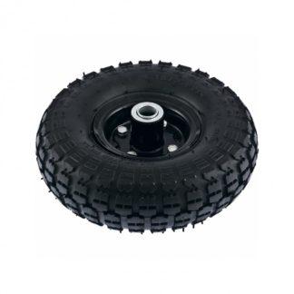 Колесо пневматическое 4.10/3.50-4, колесо D 260 мм. внутренний подшипник D 20 мм, длина оси 50 мм PalisaD