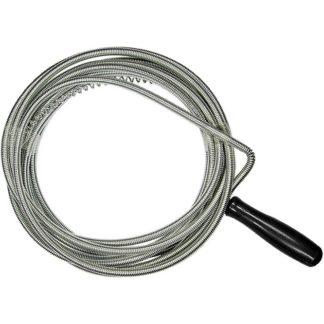 Трос для прочистки труб, L-3 м, D 6 мм Сибртех