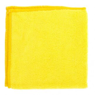 Салфетка универсальные из микрофибры желтые 300 х 300 мм Elfe