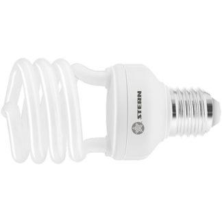 Лампа компактная люминесцентная, полуспиральная, 15 W, 2700K, E27, 8000ч Stern