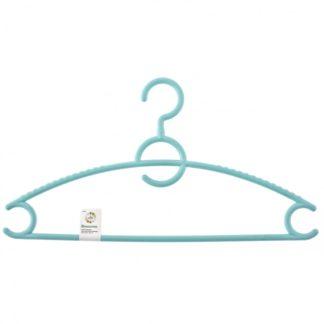 Вешалка пластиковая для верхней одежды 43 см, цветная Elfe