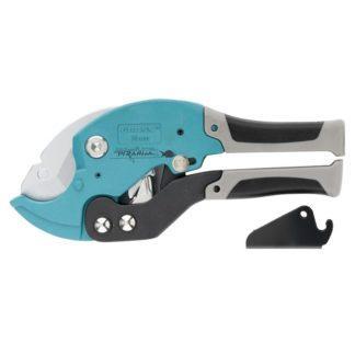 Ножницы для резки изделий из ПВХ, D до 36 мм, двухкомпонентные рукоятки, рабочий стол для плоских изделий Gross