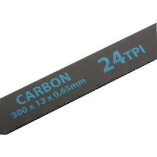 Полотна для ножовки по металлу, 300 мм, 24 TPI, Carbon, 2 шт Gross