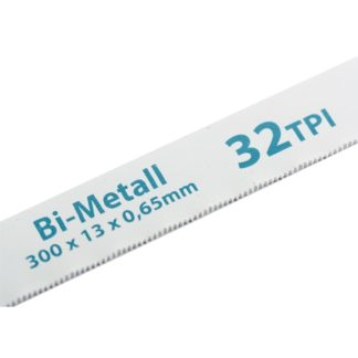 Полотна для ножовки по металлу, 300 мм, 32 TPI, BiM, 2 шт Gross