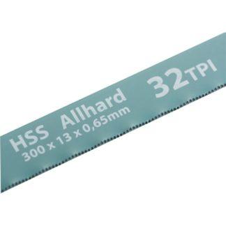Полотна для ножовки по металлу, 300 мм, 32 TPI, HSS, 2 шт Gross