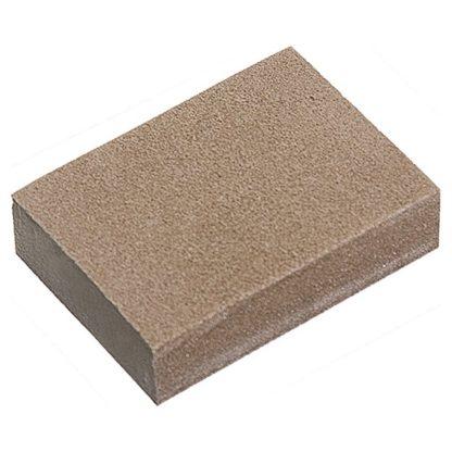 Губка для шлифования, 125 х 100 х 10 мм, мягкая, 3 шт, P 60/80, P 60/100, P 80/120 Matrix