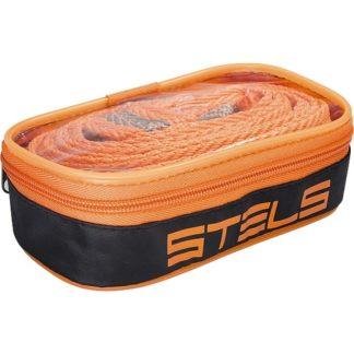 Трос буксировочный 7 т, 2 крюка, сумка на молнии Россия Stels